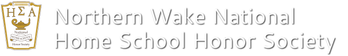 Northern Wake National Home School Honor Society
